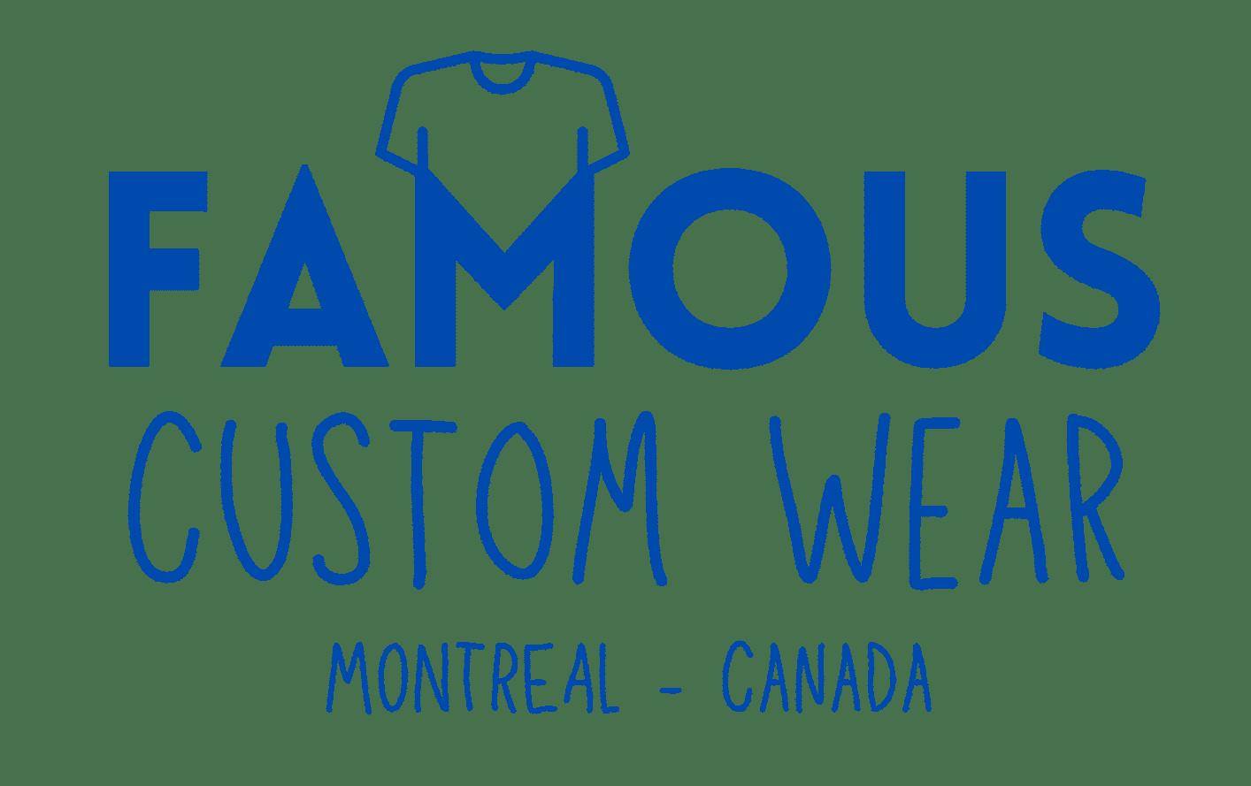 Famous Custom Wear